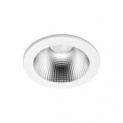 90 Series 27.8w LED Downlight With White Bezel