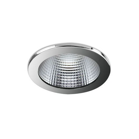 90 Series 46.3w LED Downlight With Chrome Bezel