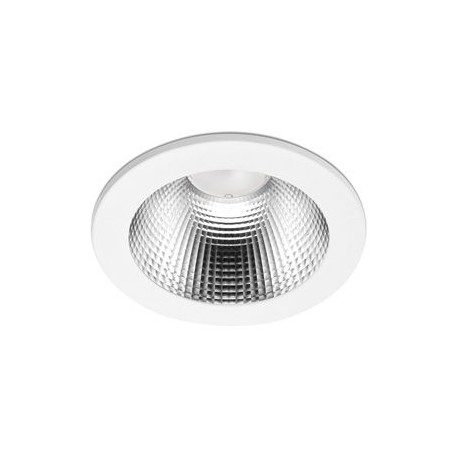 90 Series 30.3w LED Downlight With White Bezel