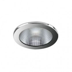112 Series 9w LED Downlight With Chrome Bezel