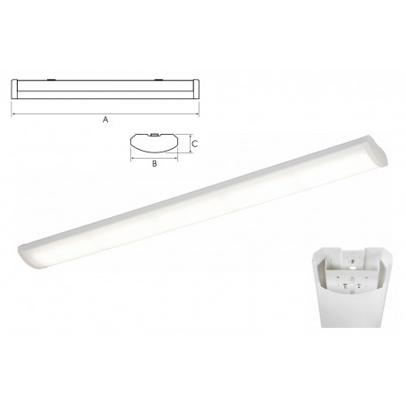 344 Series LED Linear Fitting
